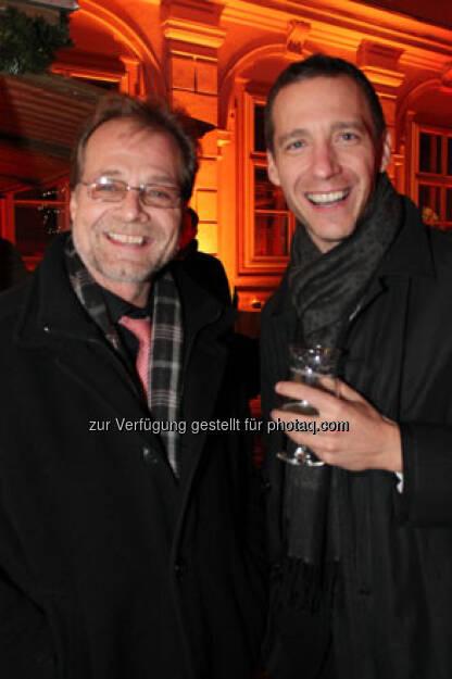 Christian Gutlederer (OeNB) und Robert Fleischhacker (Erste Group Bank), © Wiener Börse AG (15.12.2012)