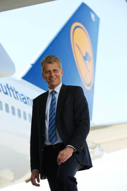 Harry Hohmeister, Vorstand Verbund-Airlines und Logistik, Lufthansa AG, (C) Gregor Schläger, © Lufthansa AG (Homepage) (17.02.2014)