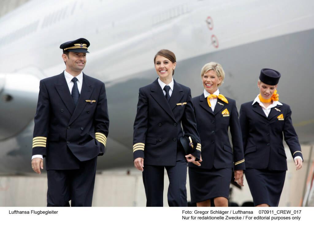 Lufthansa Flugbegleiter Foto: Gregor Schlaeger , © Lufthansa AG (Homepage) (17.02.2014)