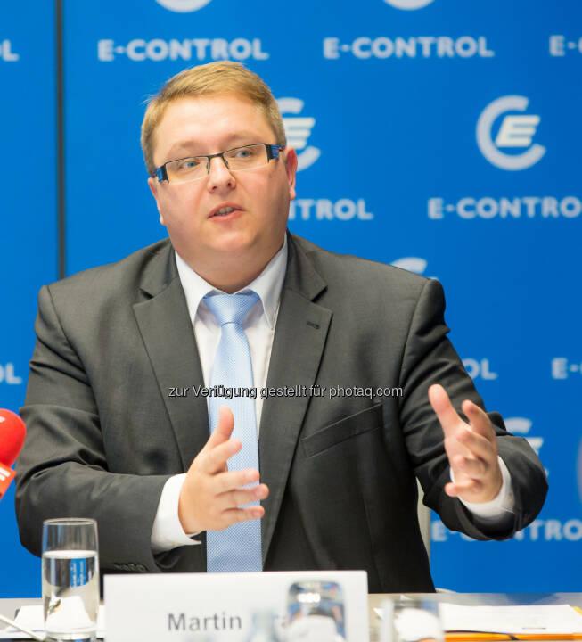 Martin Graf, MBA, Vorstand der Energie-Control Austria