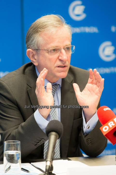 Wilhelm Molterer, Vizepraesident E-Control und Mitglied des Direktoriums der Europaeischen Investitionsbank