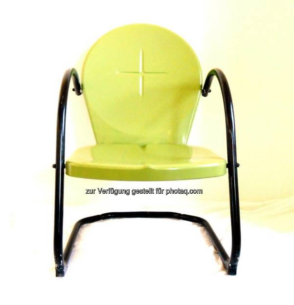 The Green Chair (2013) , © Dietmar Scherf (17.02.2014)