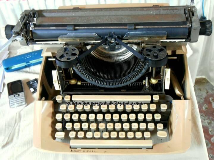 Typewriter, Schreibmaschine (2014)