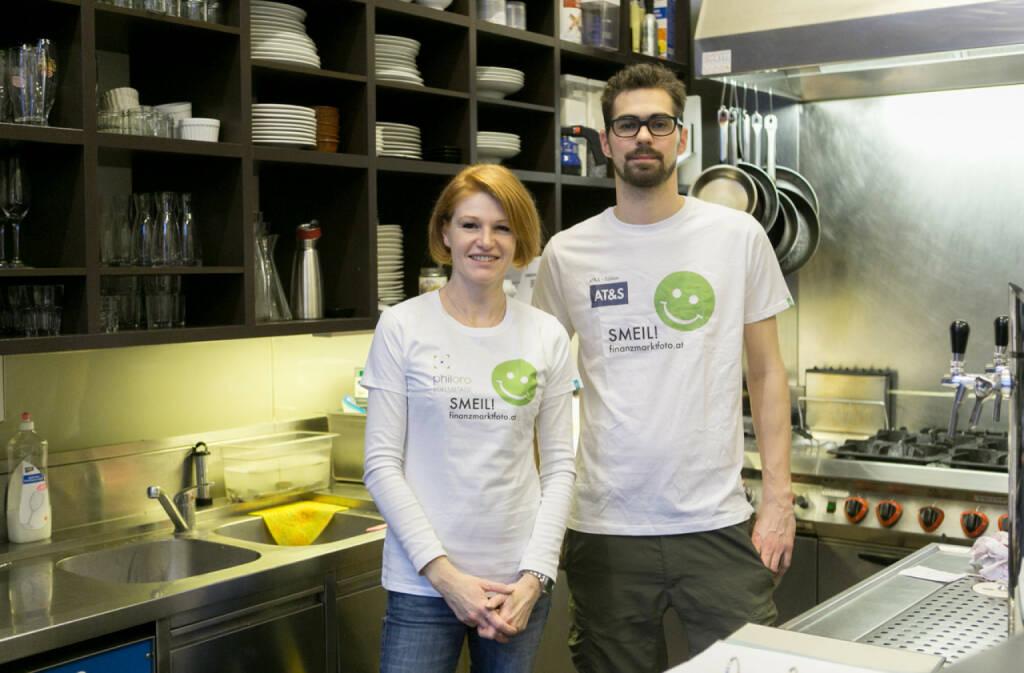 Smeil: Isabelle Berger-Frantzen und Werner Tschiedel, http://www.cotesud.at/, © finanzmarktfoto.at/Martina Draper (24.02.2014)