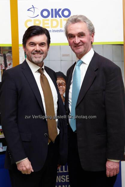 Hubert Neuper und Peter Püspök , © IVA (24.02.2014)