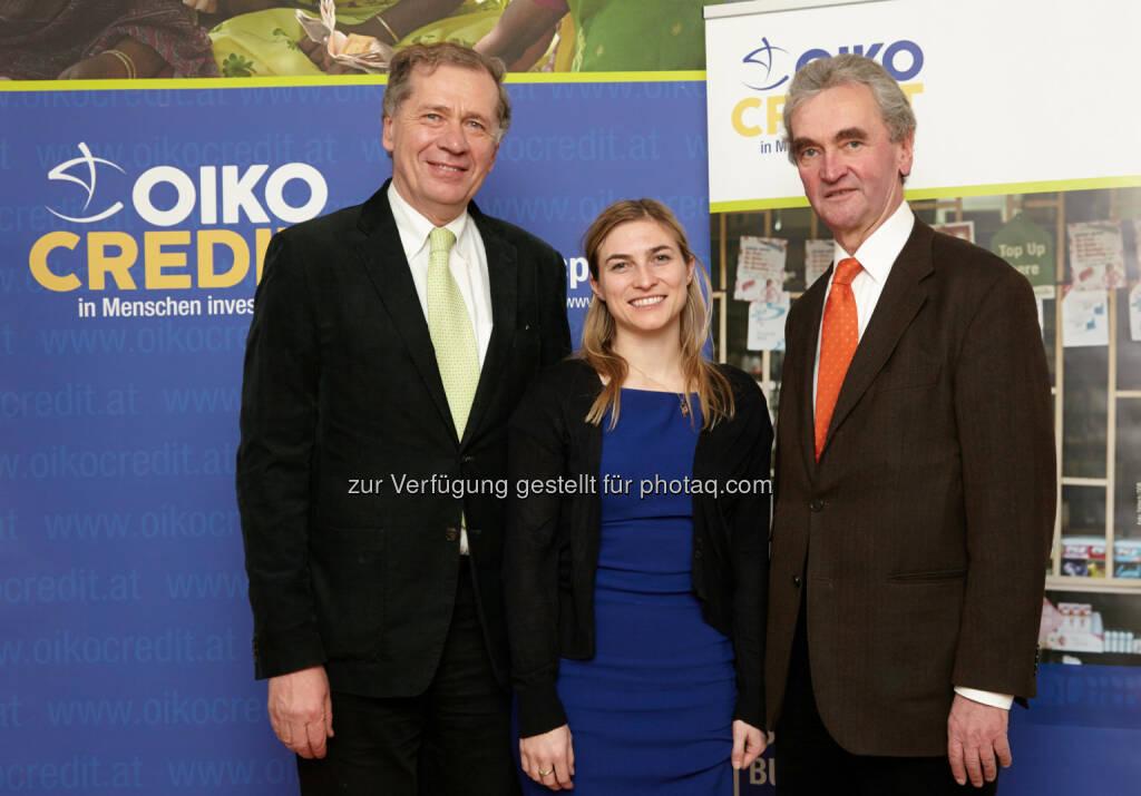 Wilhelm Rasinger, Laura Neuper, Peter Püspök, © IVA (25.02.2014)