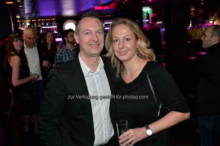 Goldbach Media-Chef Josef Almer, Frau Latour