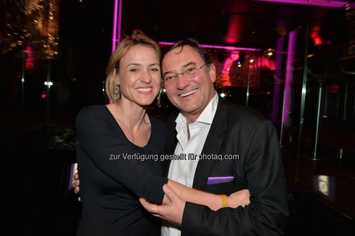 Unique-Werberin Bernadette Schuberth, Unternehmer Heinz Stiastny