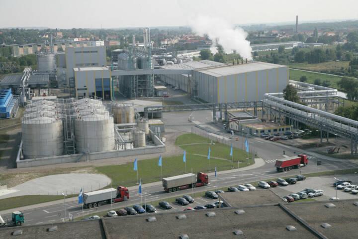 Südzucker Bioethanol Produktion am Standort Zeitz