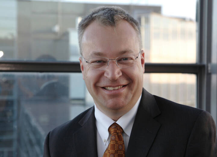 Stephen Elop, President and CEO of Nokia Corporation