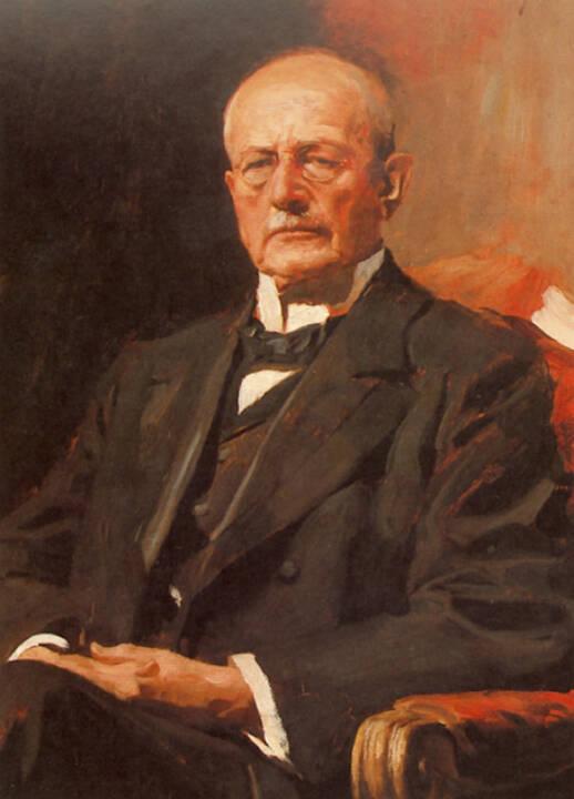 Carl von Thieme, (1844–1924) gründet 1880 die Münchener Rückversicherungs-Gesellschaft