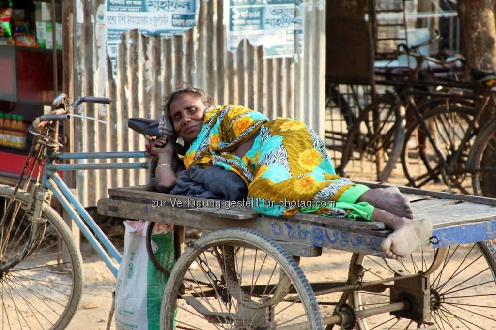 Bangladesh, Schlafen, &copy; <a href=