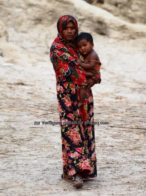 Bangladesh, Mutter mit Kind, &copy; <a href=