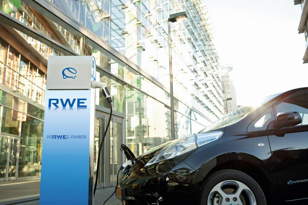 RWE ePower, RWE eStation smart, Ladestationen, E-Autos, © RWE AG (Homepage) (07.03.2014)