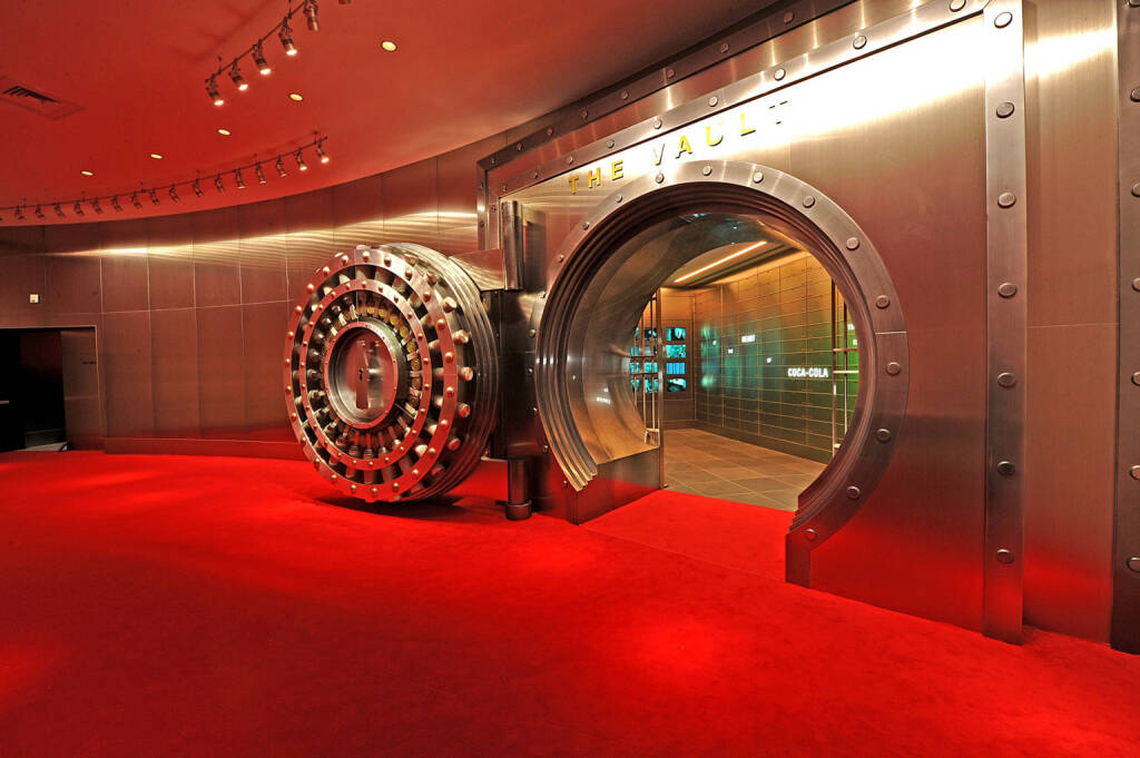 The Vault of the Secret Formula at The World of Coca-Cola, © Coca-Cola Company(Homepage) (08.03.2014)