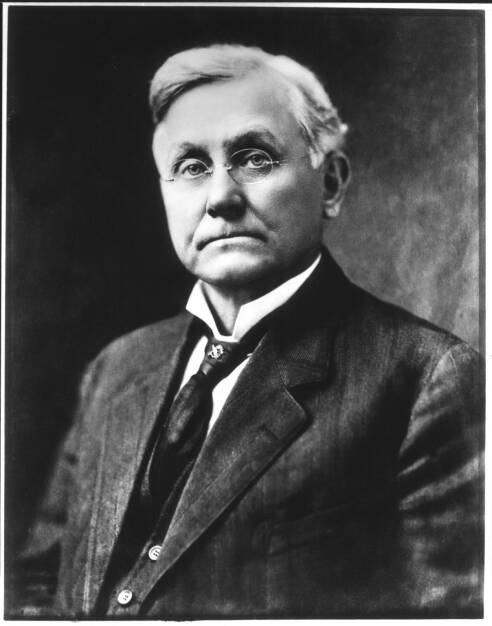 Asa Candler, first president and early marketer, Coca-Cola Company, © Coca-Cola Company(Homepage) (08.03.2014)