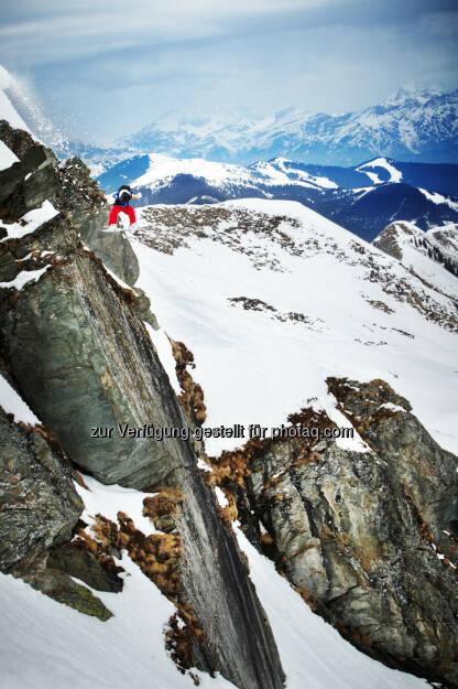 Freeride: Am 22. März findet am Kitzsteinhorn in Zell am See-Kaprun der X Over Ride statt., © Aussendung (12.03.2014)