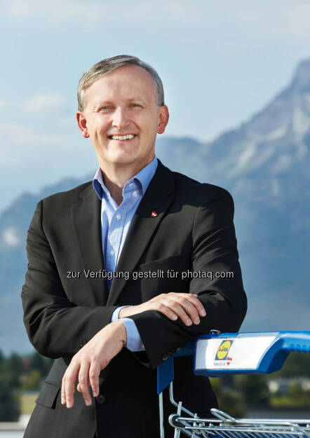 Alexander Deopito, Vorsitzender der Geschäftsleitung von Lidl Österreich: Lidl Österreich investiert 2014 über 100 Millionen Euro - mittelfristig sollen alle 202 Filialen modernisiert werden.  (13.03.2014)