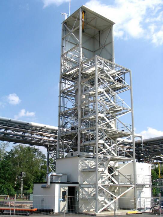 Free-Space Reaktor (FSR) zur Abscheidung von Silizium aus dem Gas Silan, SolarWorld AG