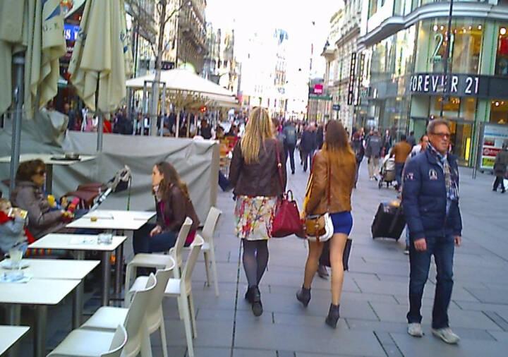 Kärnter Strasse Wien, Fussgängerzone