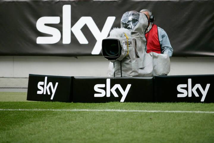 Sky im Fussballstadtion, Sky Deutschland AG
