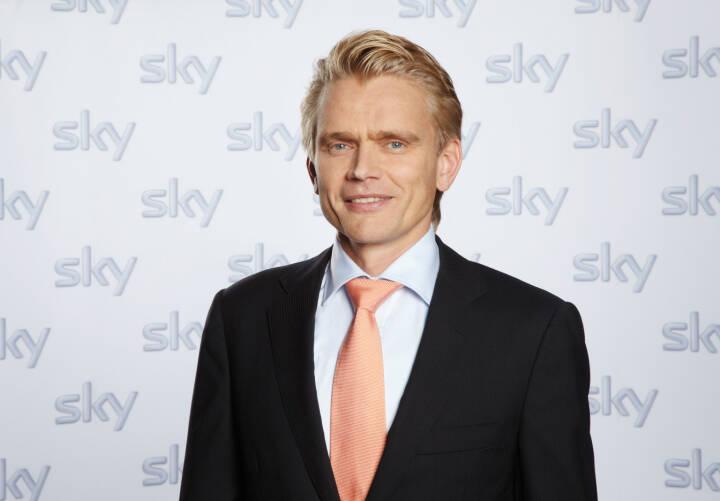 Holger Enßlin, Vorstand Legal, Regulatory & Distribution, Sky Deutschland AG