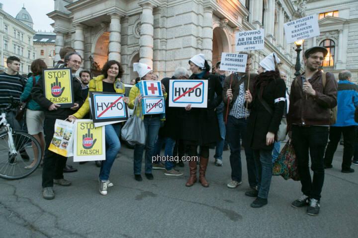 Nicht Hypo, Hypo Demonstration in Wien am 18.03.2014