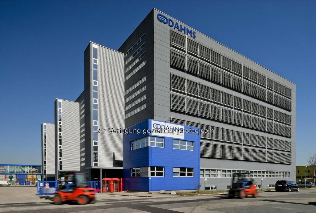 Dahms solutions GmbH, E-Commerce Logistikcenter , © MLC - Meir Logistik Immobilien (24.03.2014)