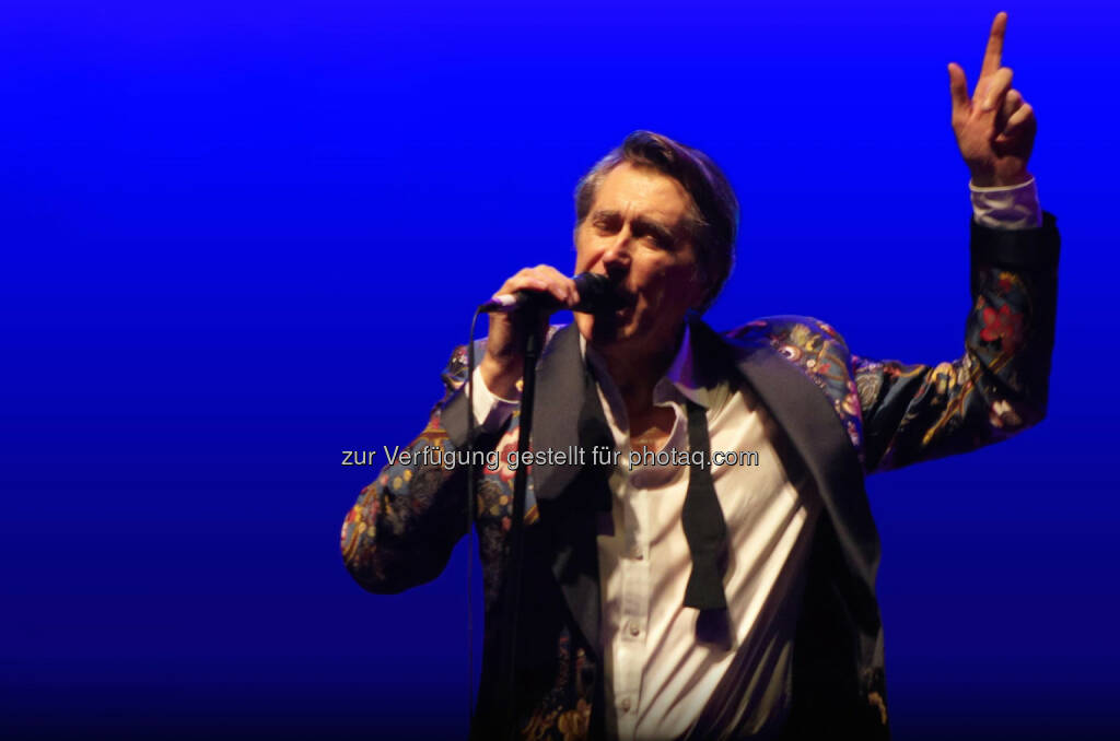 Bryan Ferry wird als erster Preisträger mit dem ALiV-Award ausgezeichnet. Fotocredit: obs/A Life in Voice/Bryan Ferry, © Aussendung (25.03.2014)