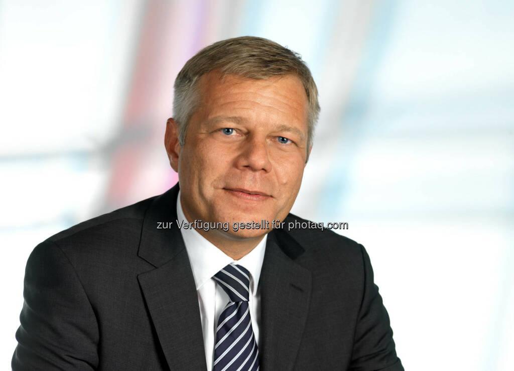 Alexander Schmidecker, CEO von Raiffeisen-Leasing, ist neues Vorstandsmitglied des Verbandes Österreichischer Leasing-Gesellschaften (VÖL), (C) Wilke (25.03.2014)