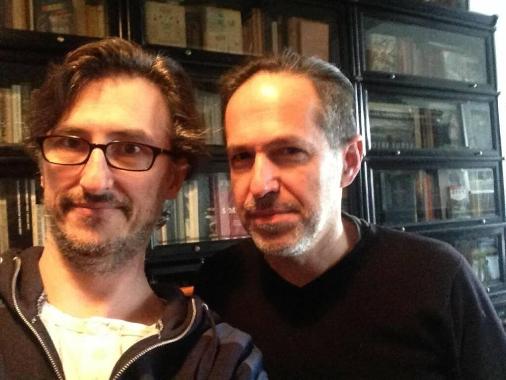 Josef Chladek trifft Andreas Bitesnich - http://www.christian-drastil.com/2014/03/27/wen_mein_co_trifft_wenn_ich_bei_s_immo_und_flughafen_wien_bin (27.03.2014)