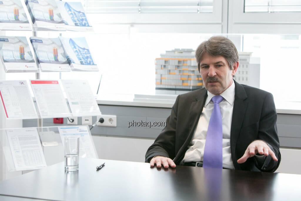Ernst Vejdovszky (S Immo), © finanzmarktfoto.at/Martina Draper (27.03.2014)