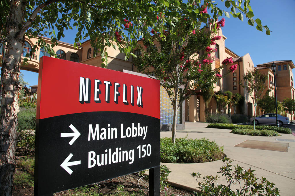 Netflix Inc. Headquarters in Los Gatos, California, © Netflix Inc. (Homepage) (01.04.2014)