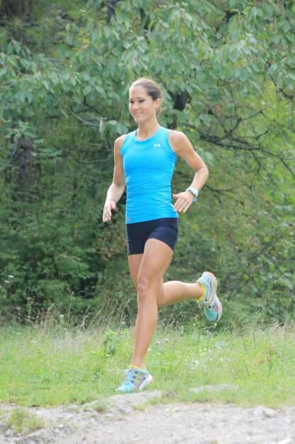 Monika Kalbacher - die österreichische Spitzenläuferin ist Runplugged-Betatesterin (05.04.2014)