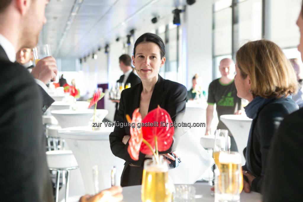 Bettina Schragl, Immofinanz, siehe auch: http://blog.immofinanz.com/de/2014/04/09/immofinanz-infos-rund-um-buwog-abspaltung/ , © Martina Draper für Immofinanz (07.04.2014)