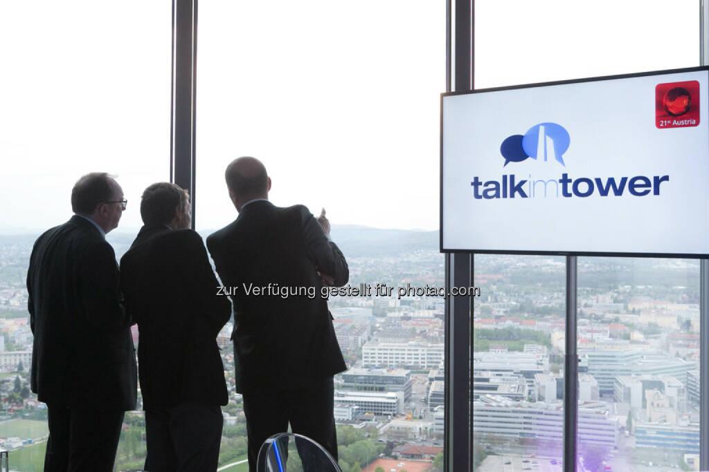 Talk im Tower, © Martina Draper für Immofinanz (09.04.2014)