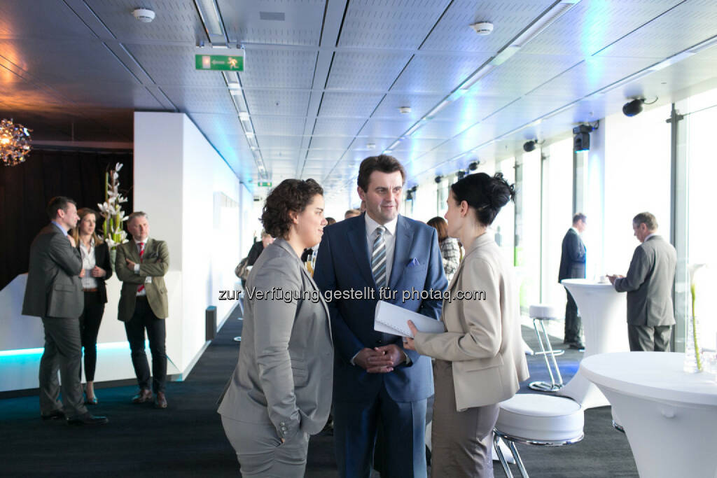 Karin Kernmayer, Bettina Schragl, Immofinanz, © Martina Draper für Immofinanz (09.04.2014)