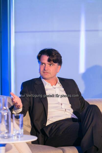 """Christian Ultsch, Leiter Außenpolitik """"Die Presse"""", © Martina Draper für Immofinanz (09.04.2014)"""