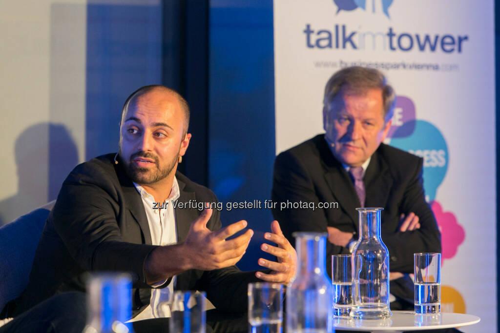 Ali Mahlodji (CEO Whatchado), © Martina Draper für Immofinanz (09.04.2014)