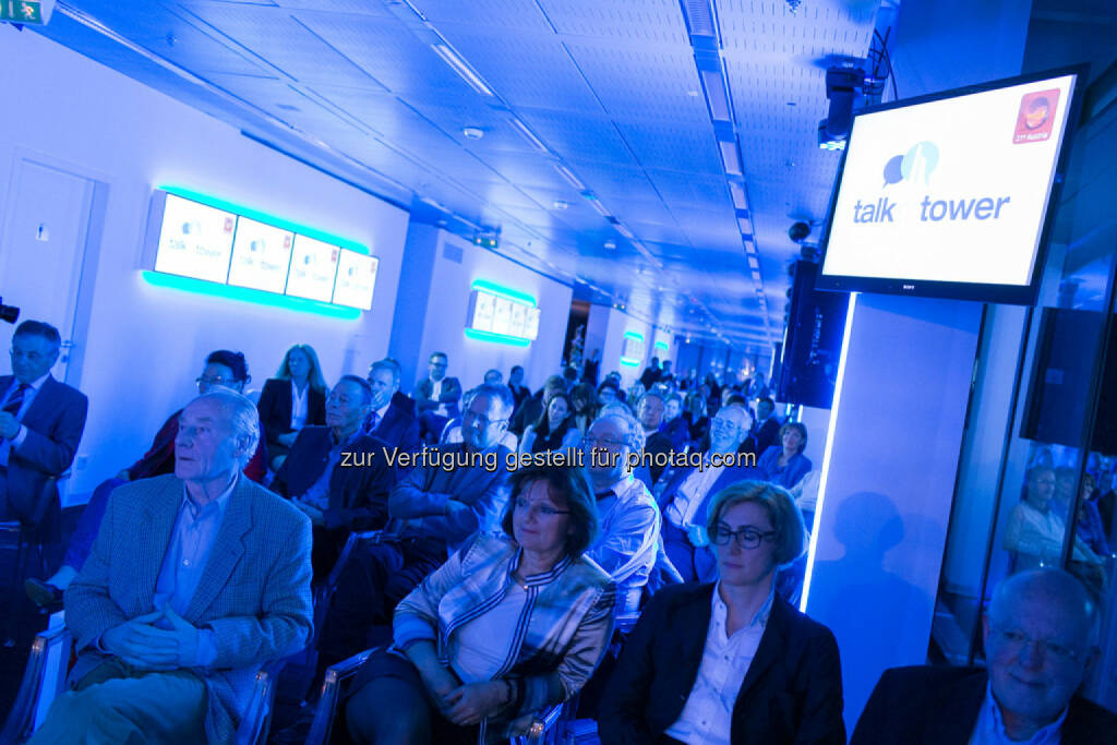Talk im Tower, Publikum, © Martina Draper für Immofinanz (09.04.2014)