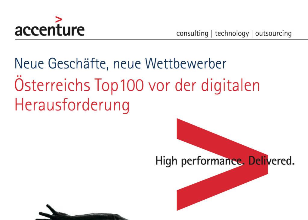 Die Growth Champions unter Österreichs Top100, © Accenture (09.04.2014)