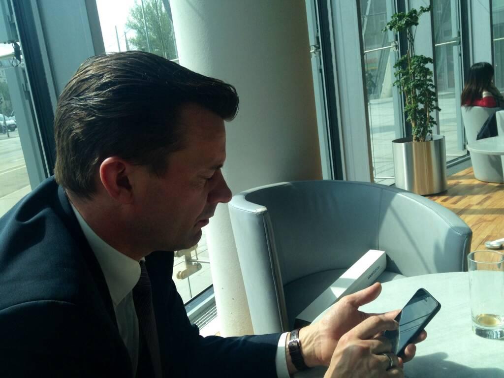 Mit Gerhard Kürner, voestalpine, über die grossen Medienthemen der Zukunft (10.04.2014)