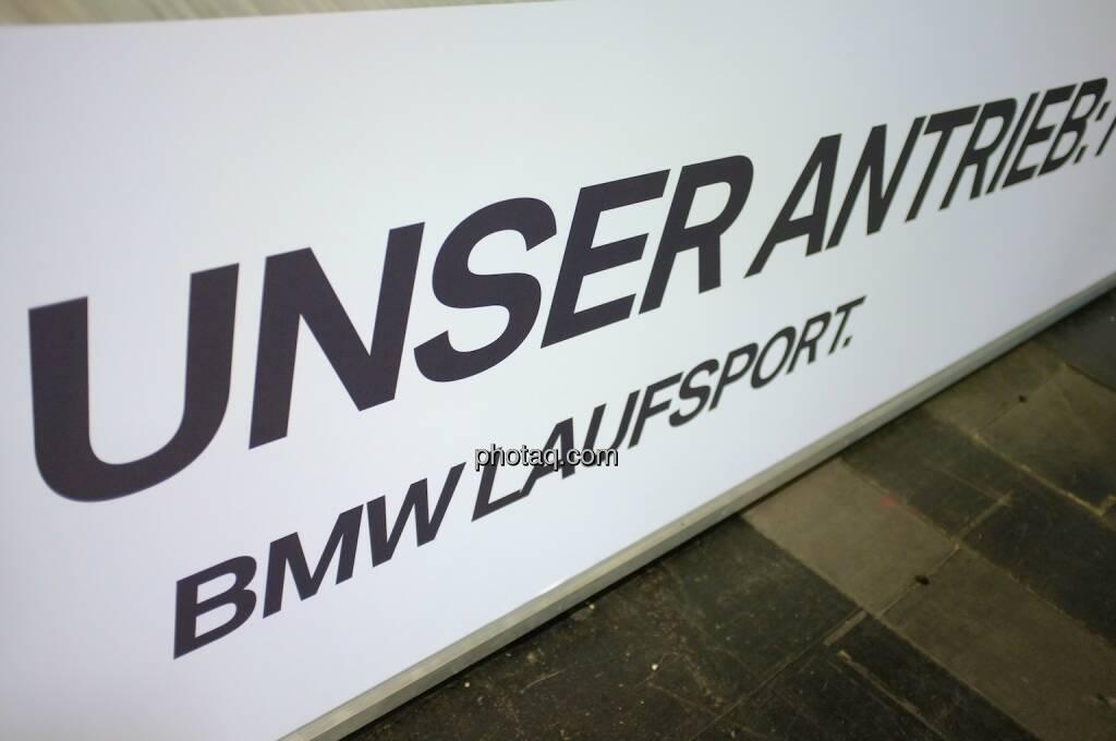 Unser Antrieb - BMW Laufsport, © Josef Chladek finanzmarktfoto.at (11.04.2014)