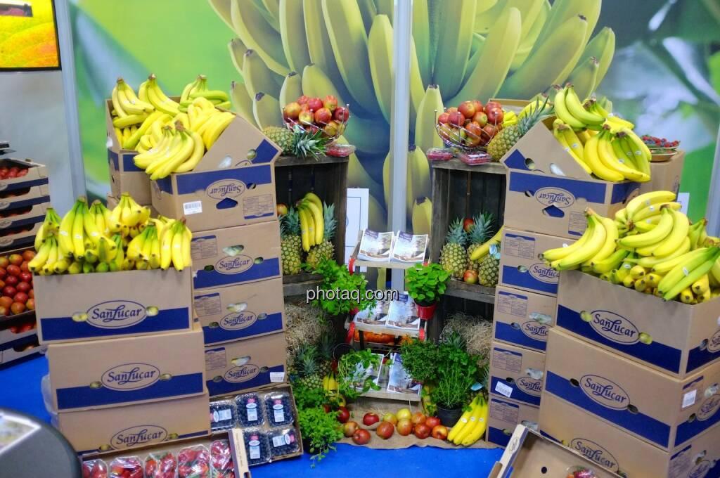 San Lucar, Obst, Bananen, Ananas, © Josef Chladek finanzmarktfoto.at (11.04.2014)