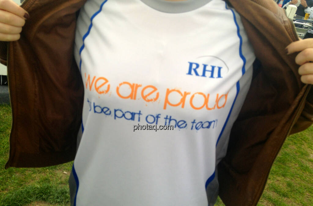 RHI - we are proud to bei part of the team (13.04.2014)