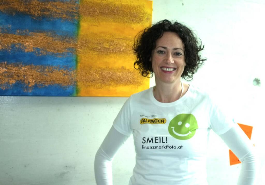 Susanne Lederer Smeil (Shirt in der Palfinger-Kollektion) (13.04.2014)