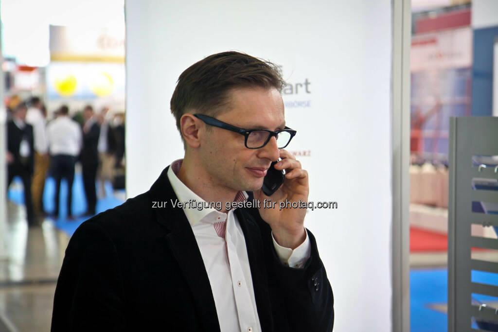 Andreas Kern Telefon, © wikifolio (14.04.2014)