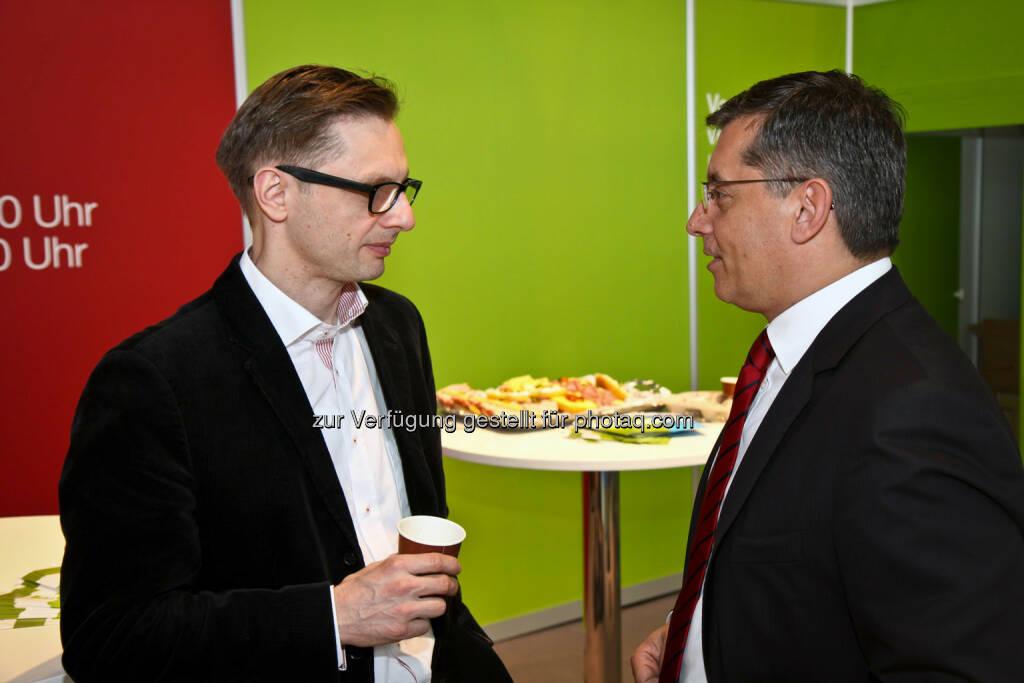 Andreas Kern (links), © wikifolio (14.04.2014)