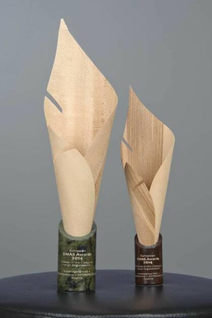 """In der Kategorie """"Großunternehmen ging der European #EMAS #Award an die voestalpine VAE GmbH, voestalpine Weichensysteme GmbH und voestalpine Hytronics GmbH am Standort #Zeltweg: http://bit.ly/1gVVFCU, © Aussendung (14.04.2014)"""