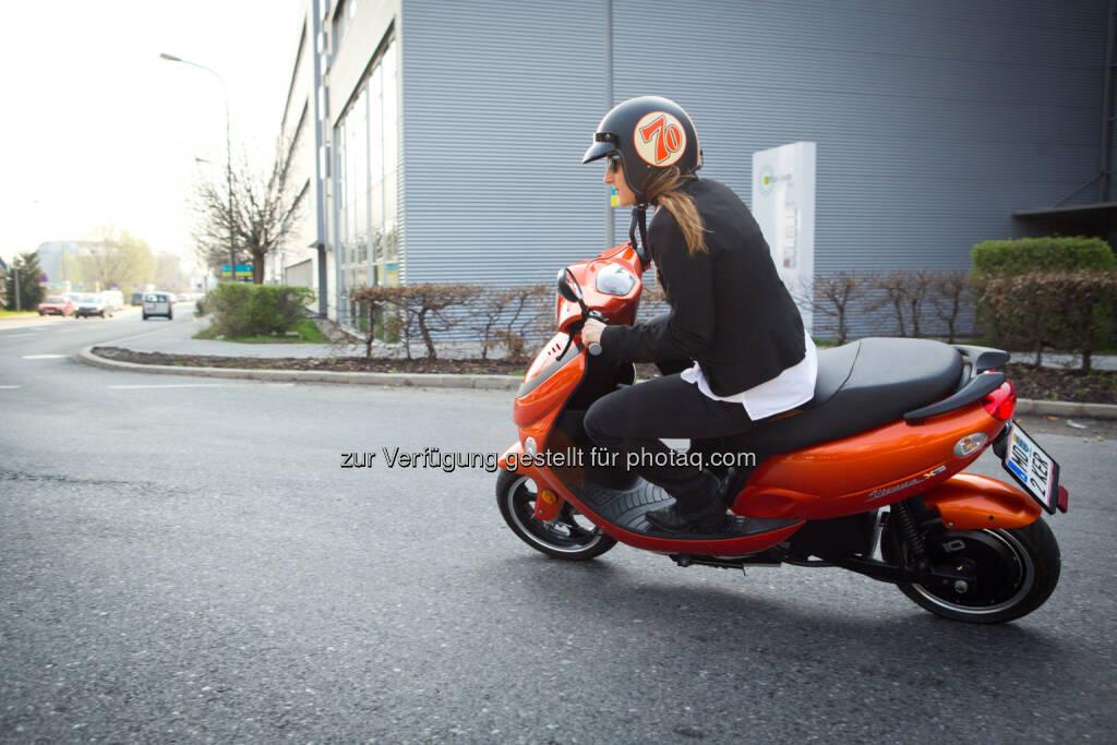 IO-Scooter: Im Jänner 2014 landete das österreichische Unternehmen iO Scooter mit seinen einspurigen E-Scooter Modellen unter den Top drei Herstellern (c) Hans Krist (23.04.2014)